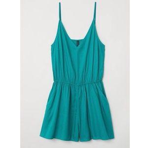 H&M Emerald Green Romper